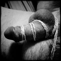 Small penis bondage