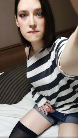 Sissy selfie