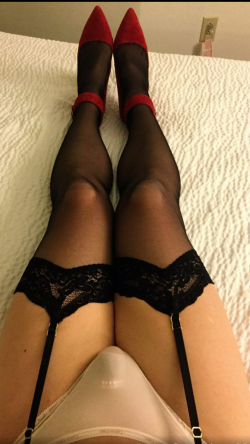 Waiting for mistress