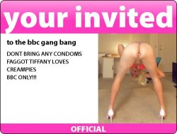 Sissy Fag Tiffany Craves Creampies!