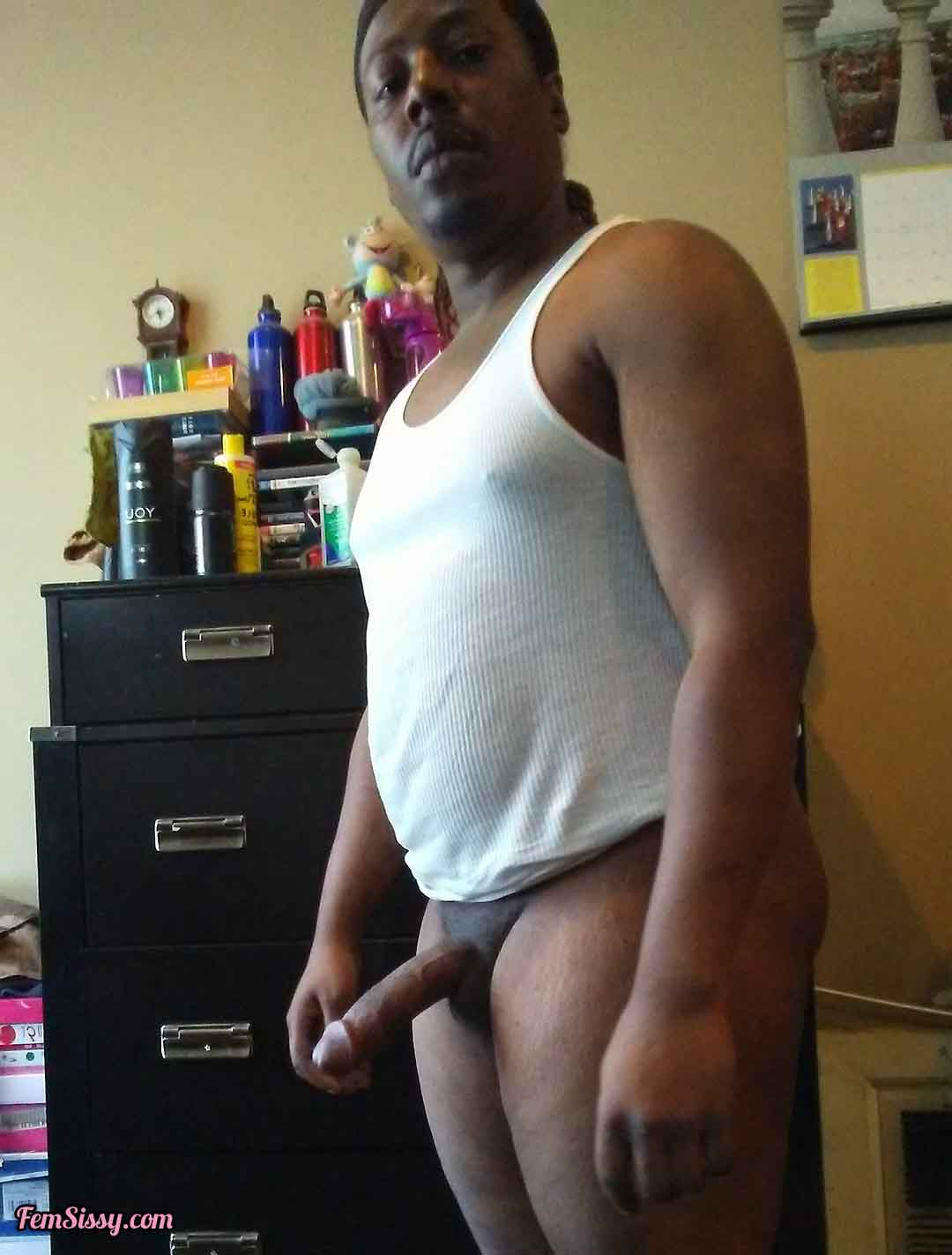 Black dick tits Thin Black Dick And Sissy Tits Freakden