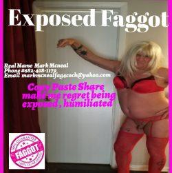 Expose this faggot