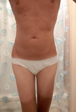 Me – white sissy panties