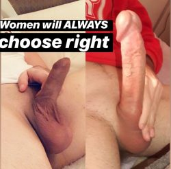 Why do women never pick left…