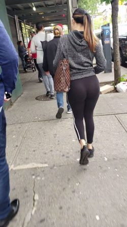 Visible panty lines in the big city