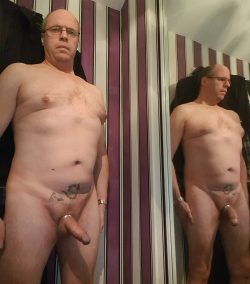 Adrian showing his cock…..