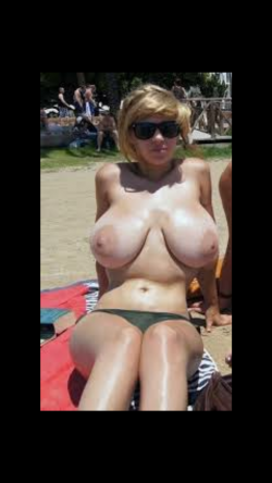 Look at those young heavy tits exposed.
