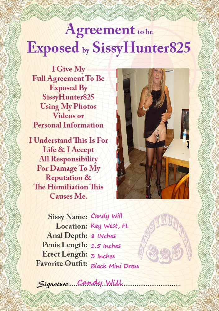 Sissy Exposure for Candy