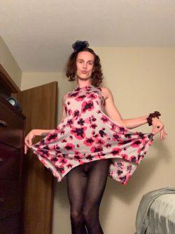 Sissy Garrett dressing up again