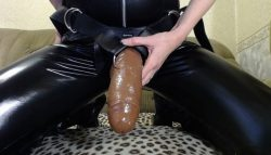 Bend over and get bimbofied! Time to take the strapon