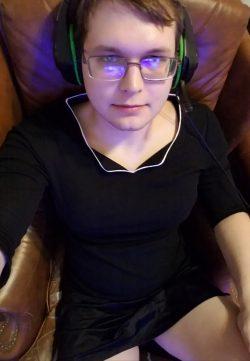 Dressed like a sissy