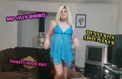 Bimbo Denver the Thirsty Dick Slut