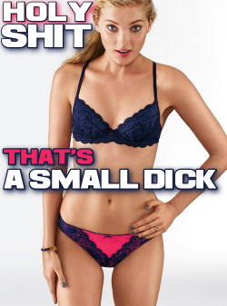 Wholly shit now that is a small dick