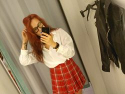 Princess turns you into a sissy schoolgirl