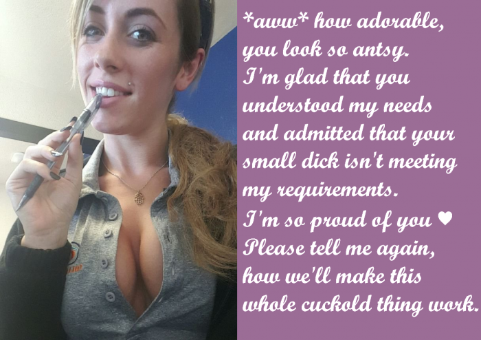 Small Penis Humiliation and Cuckold Captions I