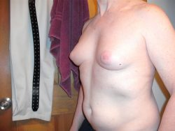 My hormone grown breasts