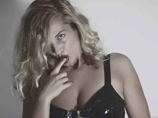 Blonde mistress humiliates your little cocklette on cam