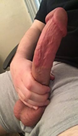 Big headed dick ready for you to sit