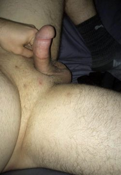 Rocking out with his micro cock out