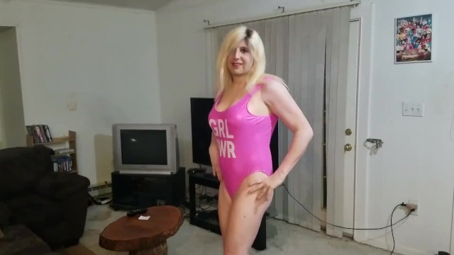 Famous Denver Alan Shoemaker becomes a sissy pageant princess