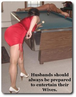 Husbands with small penises need to entertain their wives