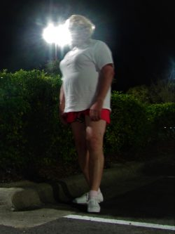 Mistress made me, Tina Tinyclitty stand in the parking lot for more than 10 minutes as the store ...