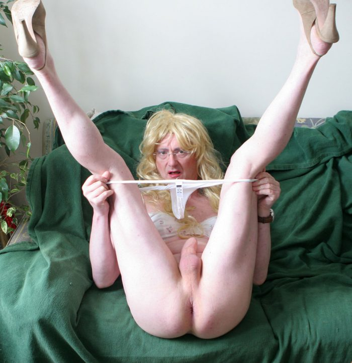 exposed tranny sissy drew boipussy displayed spread wide to advertise that anyone can fuck this  ...