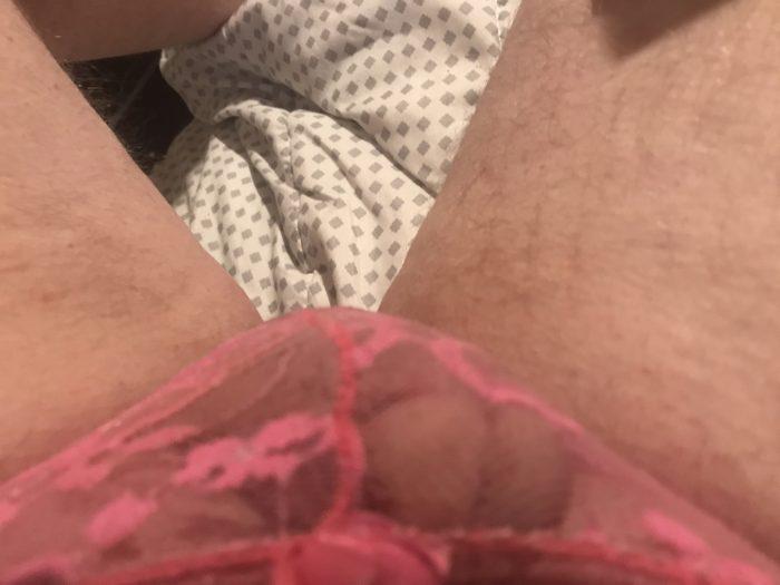 Love pink panties I can see thru mm