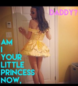 Sissy wants to be a little princess