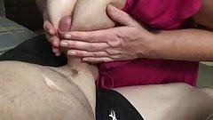 Kinky in Pink Tit fuck