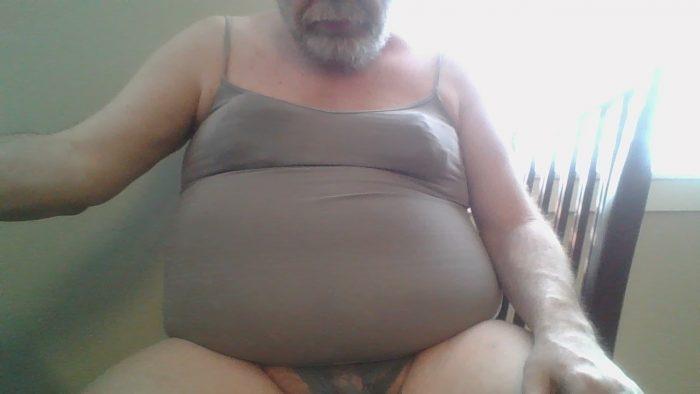 my panties and shirt