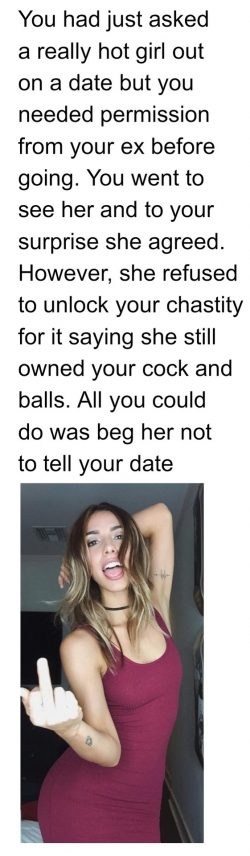 Your cock and balls are still owned