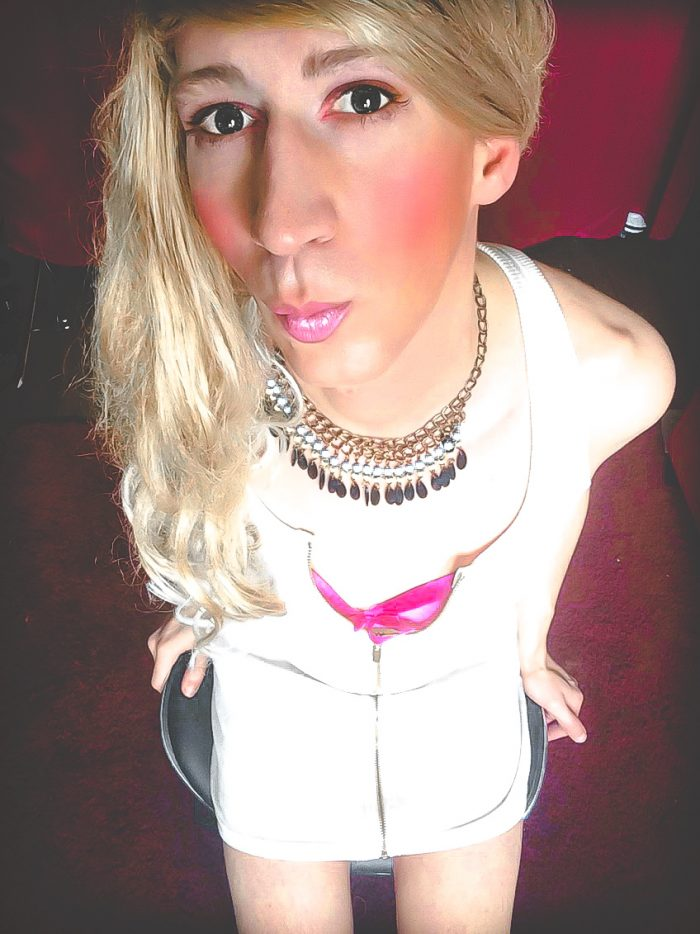 Hi I am a 27 year old Fagot who likes to dress as a sissy slut. Nobody knows I am doing this and ...