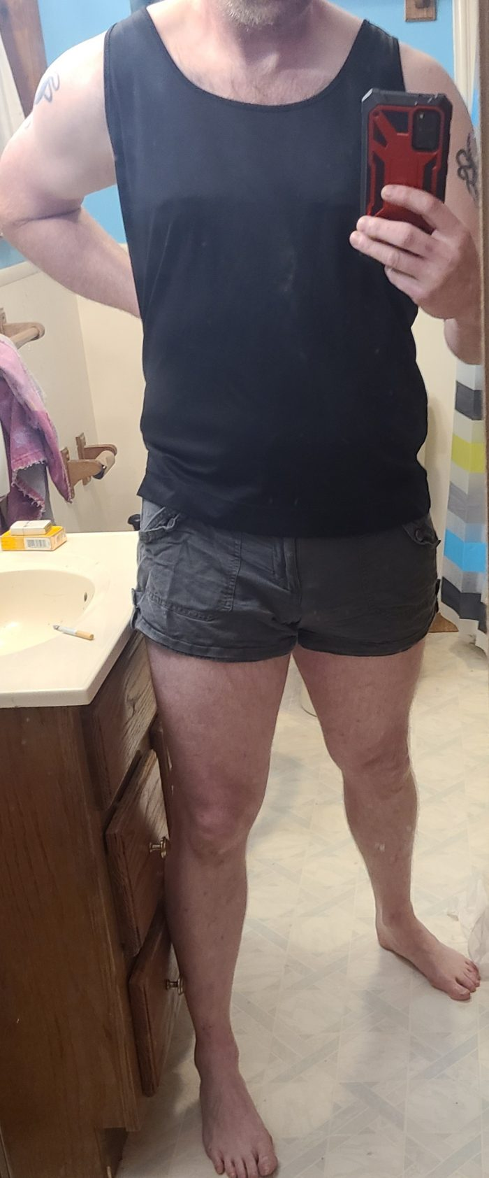 in my favorite shorty shorts