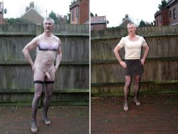 Sissy drew tranny or exposed for public use…which do you prefer ?