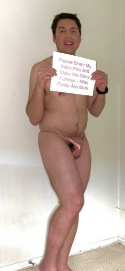 Please share my sissy pics