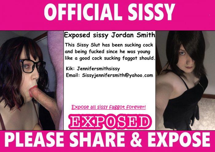Exposed Sissy slut ID Card