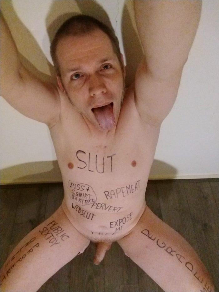 Perverted Shameless Exposed Webslut Robert Hendriksen
