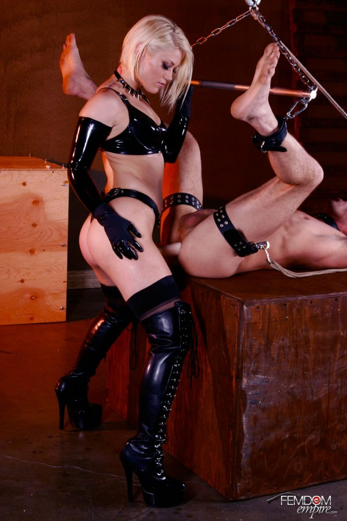 You will never be a man after mistress is done with her strapon