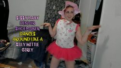 Denver Shoemaker the dancing sissy baby girl