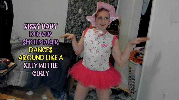 Denver Shoemaker the dancing sissy baby girl