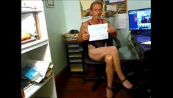 BOB MILGATE COMPLETELY EXPOSED EXPOSED WEARING NOTHING BUT TAN PANTYHOSE AND HIGH HEELS –  ...