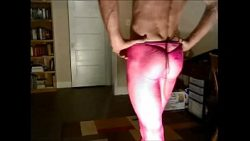 BOB MILGATE COMPLETELY EXPOSED WEARING NOTHING BUT PINK FISHNET PANTYHOSE AND HIGH HEELS – ...