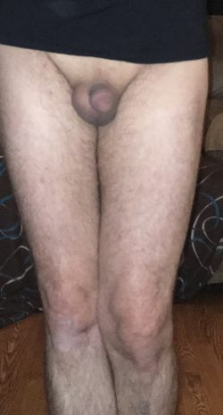 Small dick and pantys feel sexy