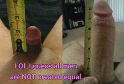 2 inches vs 10 inches LOL