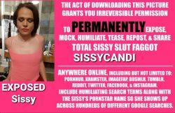 Sissycandi exposed