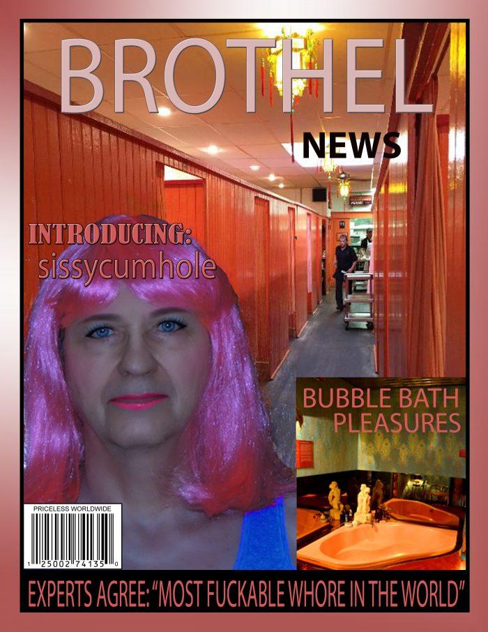 sissycumhole magazine cover