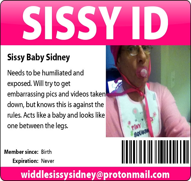 sissybabysidney needs these to be seen