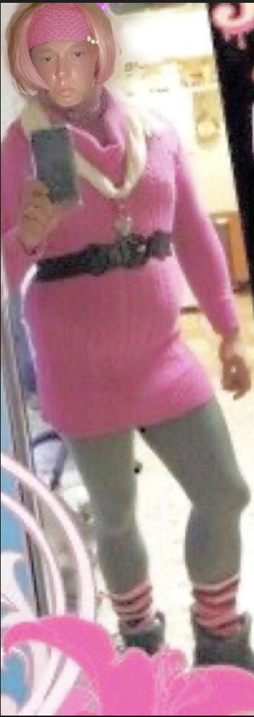 Pink Turtleneck Wearing Sissy Exposed!