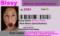 Sissy id card